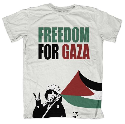 T Shirt Freedom For Gaza freedom for gaza white palestine football shirt cheap