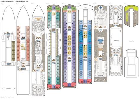 Galerry printable deck plans norwegian star Page 2