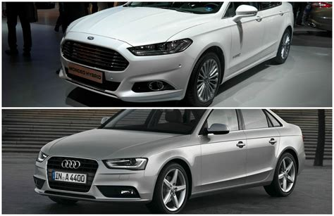 audi a3 sedan vs audi a4 comparison 2015 ford mondeo vs audi a4 sedan autoevolution