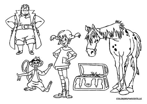 Pippi Longstocking Coloring Pages free drawing of hurricane coloring pages