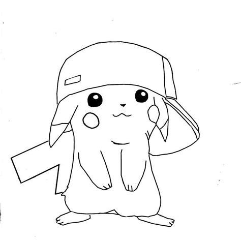 Dibujos De Pikachu Para Pintar Dibujos De Pikachu Para