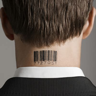 barcode tattoo couple tattoos on neck for men