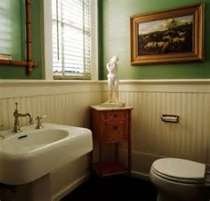 beadboard wainscoting in bathroom remodel design
