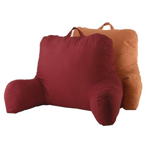 pillow back bed rest pillow back support arm stable tv reading