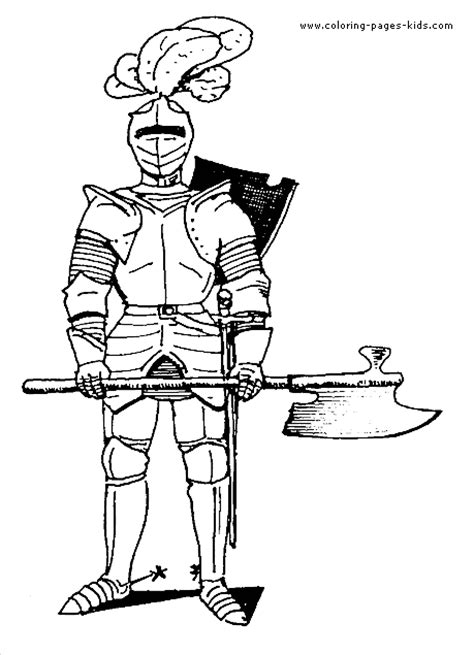 coloring pictures of knights and castles castles and knights color page coloring pages for kids