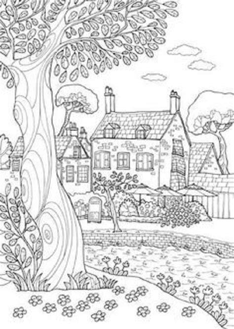imagenes de paisajes naturales para colorear paisajes para colorear dibujos para colorear