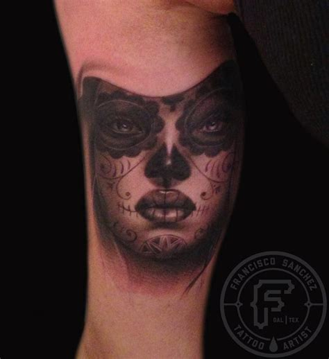sanchez tattoo day of the dead by francisco tattoos