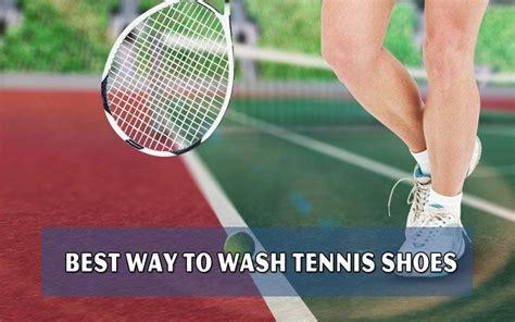 how to wash tennis shoes in washing machine