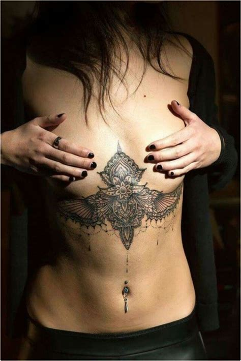 love tattoo under breast 65 sizzling under breast tattoos you ll drool over ritely