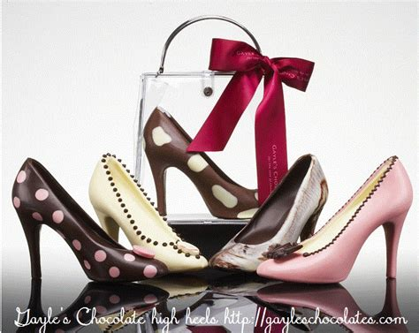 chocolate high heels seeing spots and dots pinterest