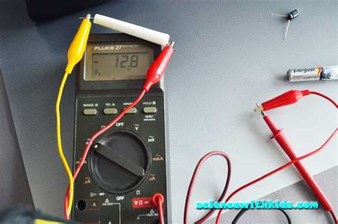 capacitor project how to make a capacitor electronics experiment science with