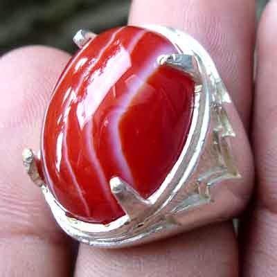 Batu Akik Sulaiman Darah 2 batu cincin akik sulaiman merah batu akik