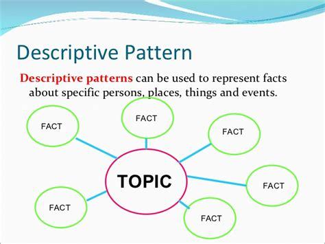 pattern describing words edu 513 nonlinguistic representations