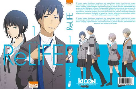 crunchyroll quot relife quot manga to be adapted into stage play