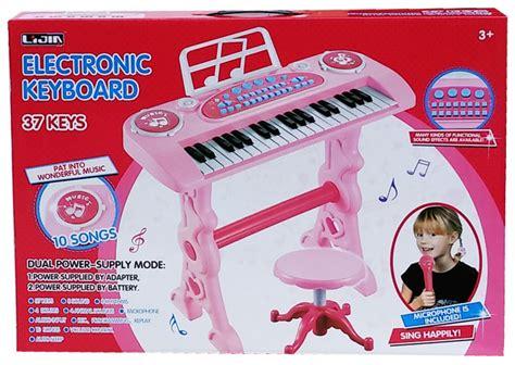 Mainan Electronic Keyboard Blue Bo 27a Musical Keyboard Murah toko mainan tokomainanonline