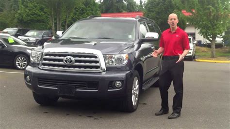 2010 toyota sequoia 2010 toyota sequoia platinum 4x4 review in 3 minutes you