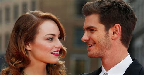 emma stone dating history are emma stone and andrew garfield getting back together