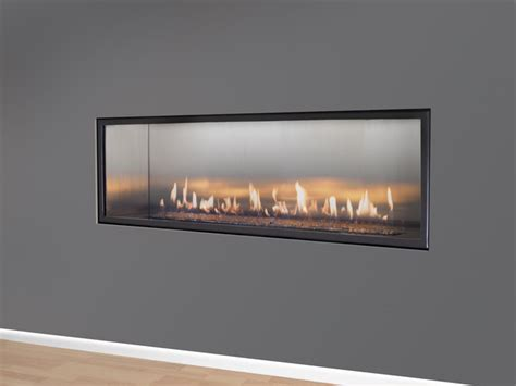 Direct Vent Linear Fireplace by Halcyon Linear Direct Vent Fireplace Modern Indoor