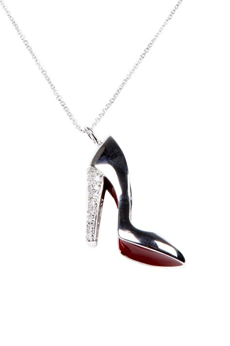 Shoe Necklace andrew hamilton bottom shoe necklace from