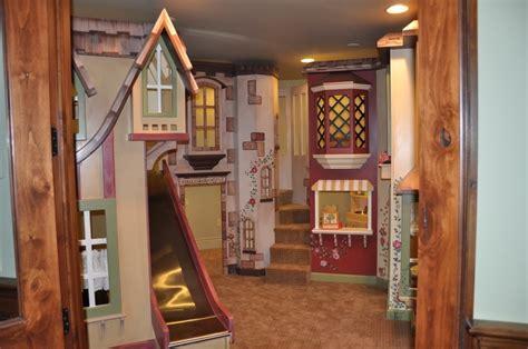 indoor playhouse custom euro castle indoor playhouse by tanglewood design