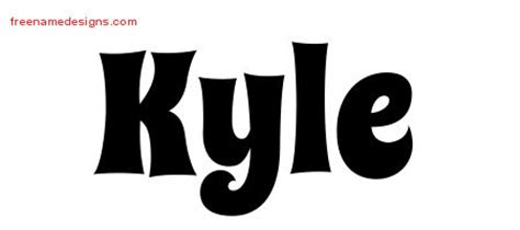 tattoo name kyle the name kyle pictures to pin on pinterest thepinsta