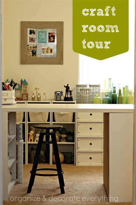craft room tour organize and decorate everything - Craft Room Tour