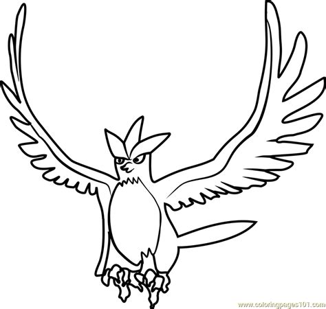 pokemon coloring pages articuno articuno pokemon go coloring page free pok 233 mon go