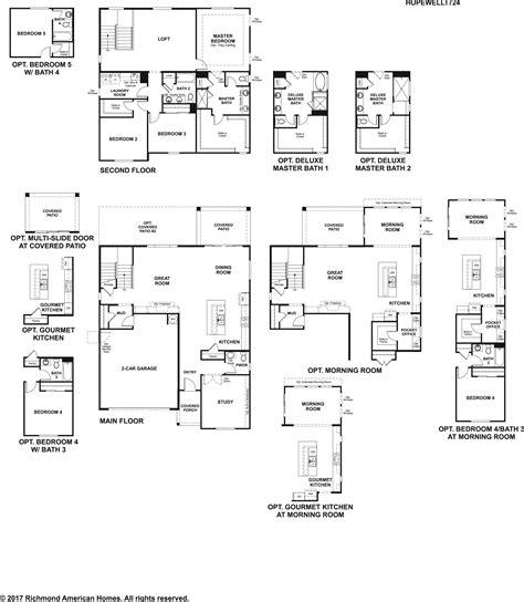 elegant richmond american homes floor plans new home richmond american homes floor plans arizona