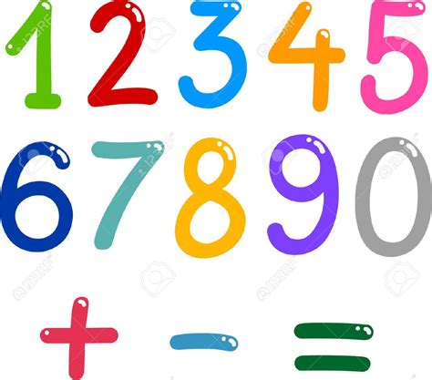 clipart matematica mathematics clipart math number pencil and in color