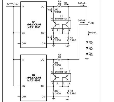 bipolar transistor led driver app note parallel led drivers for maximum current 171 dangerous prototypes