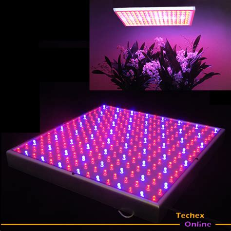 Led Lights For Plants new blue mixed 225 led hydroponic grow light panel