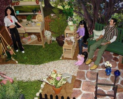backyard dollhouse 1 6 doll house backyard garden flickr photo sharing