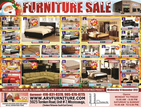 Kitchen Islands For Sale Toronto by 17 Arv Furniture Flyers Flyers Arv Furniture Flyers