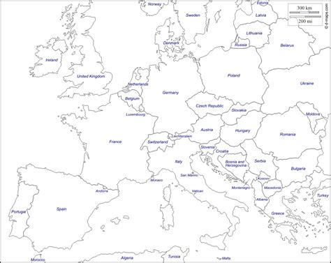 Free Search Europe Map Of Europe Black And White Search Home Schooling