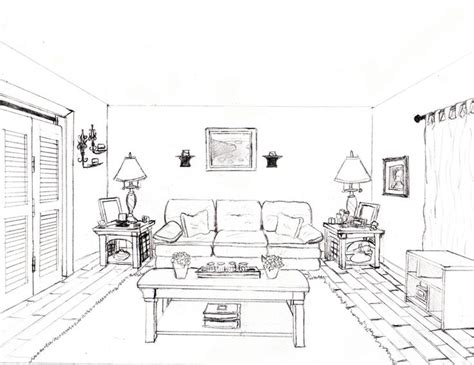 one point perspective bedroom drawings how to draw a 1 point perspective bedroom image gallery
