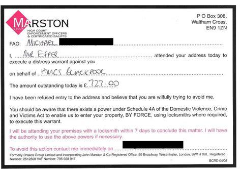 Complaint Letter Template Bailiff Marston Threatening Locksmiths