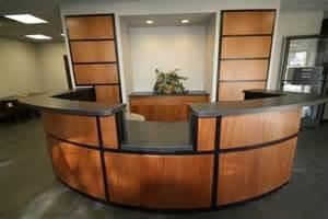 Custom Made Reception Desk Custom Made Reception Desk By C N C Custom Cabinets Custommade