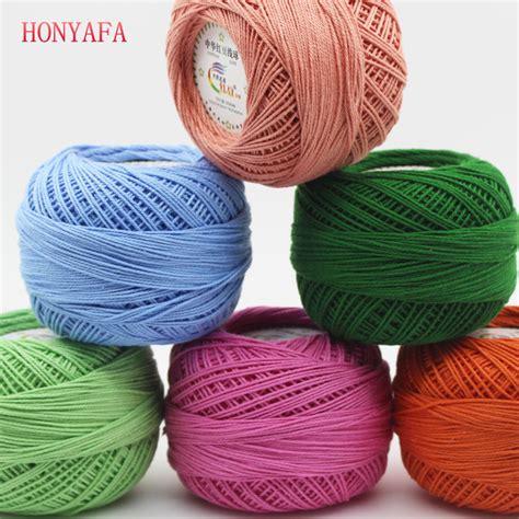 aliexpress yarn aliexpress com buy 300g lot 3 crochet cotton yarn thin