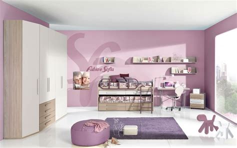 letti per bimbe cameretta bambina moderna e funzionale camerette moderne