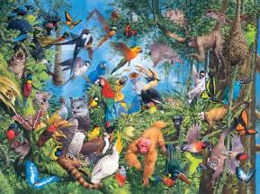 tropical treetops jigsaw puzzle puzzlewarehouse