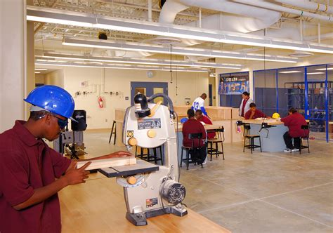 woodworking schools in students in wood shop architectural photography of