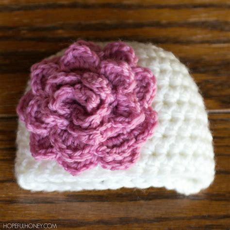 crochet pattern galore crochet patterns galore rosy newborn hat