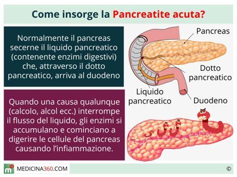 alimentazione per pancreatite pancreatite acuta cause sintomi diagnosi cura ed