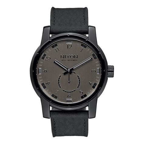 Jam Nixon Patriot Leather Black Original 100 on sale nixon patriot leather up to 50