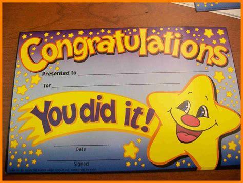 congratulations certificate certificate printable congratulations certificate