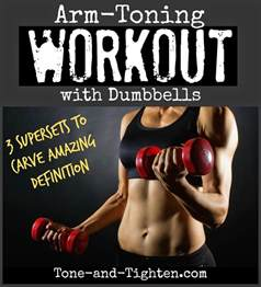 how to tone your at home the best arm toning workout with dumbbells tone and tighten