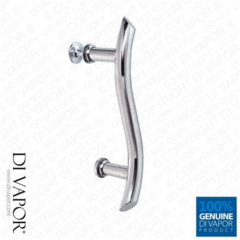 Shower Door Handle Parts 145mm Wavy Shower Door Handle 14 5cm To