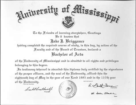 Ole Miss Jd Mba Programs by Of Mississippi Archives And Special Collections