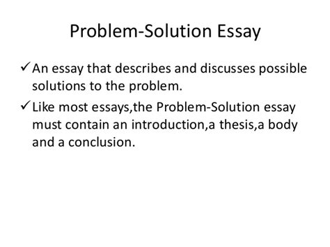 What Is A Problem Solution Essay by Problem Solving Essay About Drugerreport732 Web Fc2