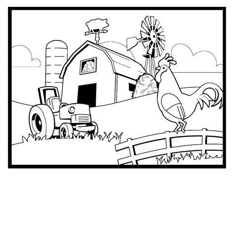free rooster pictures to print farm animal coloring pages free rooster pictures to print kb jpeg farm animal